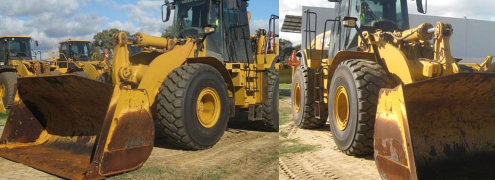Caterpillar 972H loader